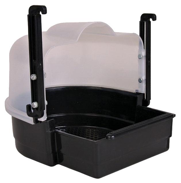 Купалка для птиц Trixie Bath House, размер 19х21х21см,, черный