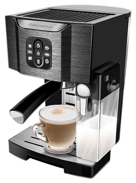 Рожковая кофеварка Redmond RCM 1512 Black