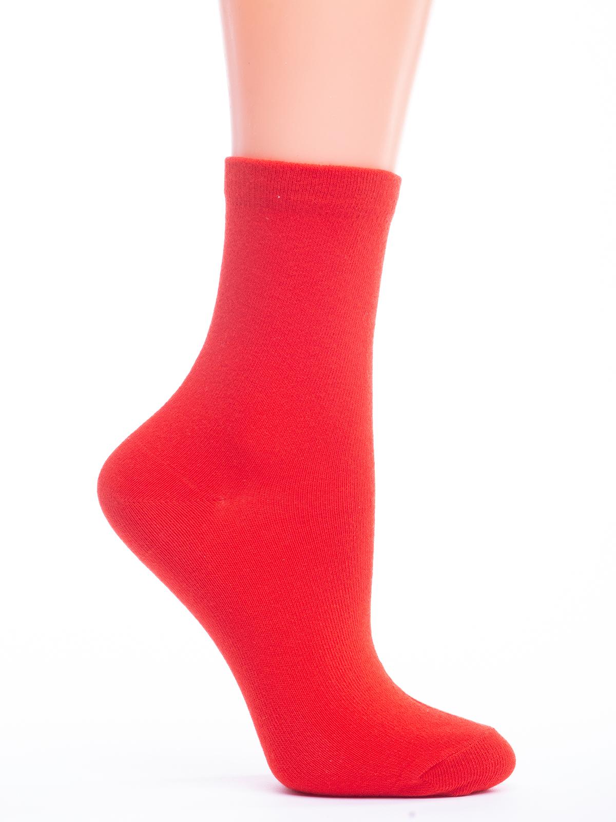 Носки женские Giulia WSL COLOR красные 36
