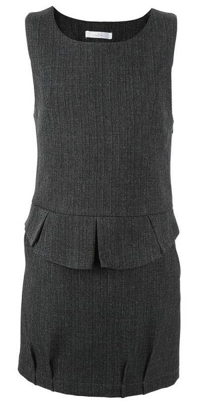 Купить Л2162, Сарафан Лидер, цв. темно-серый, 128 р-р, Leader, Сарафаны для девочек