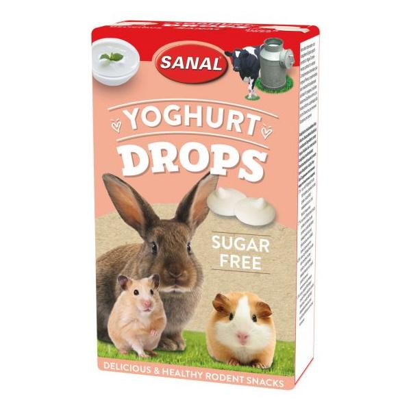 Витаминный комплекс для грызунов Sanal Yoghurt Drops,