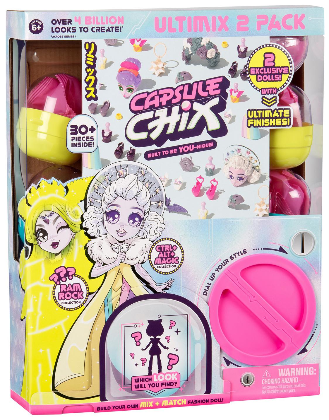 Игровой набор Moose Capsule Chix, 2 куклы Moose