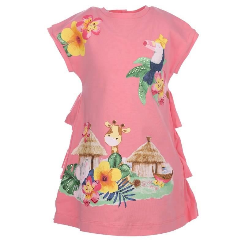Купить Платье MAYORAL, цв. розовый, 92 р-р, Детские платья и сарафаны