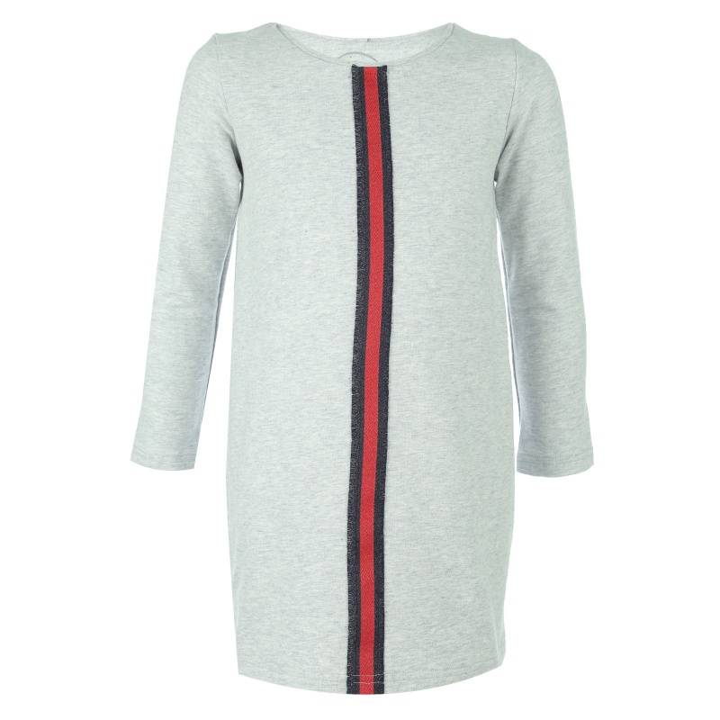 Купить 2028d, Платье UNONA GO, цв. серый, 122 р-р, Платья для девочек