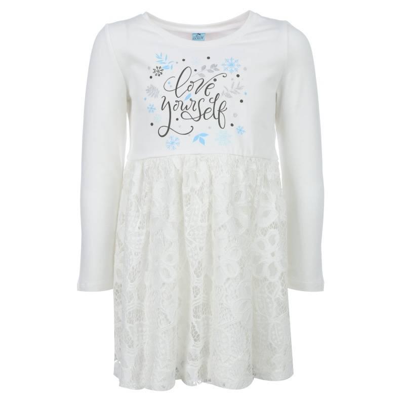 Купить Платье Goldy, цв. бежевый, 98 р-р, Детские платья и сарафаны