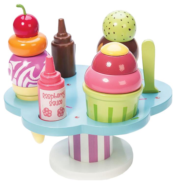 Купить Игрушечная еда Le Toy Van Десерт-мороженое на подставке, Игрушечные продукты