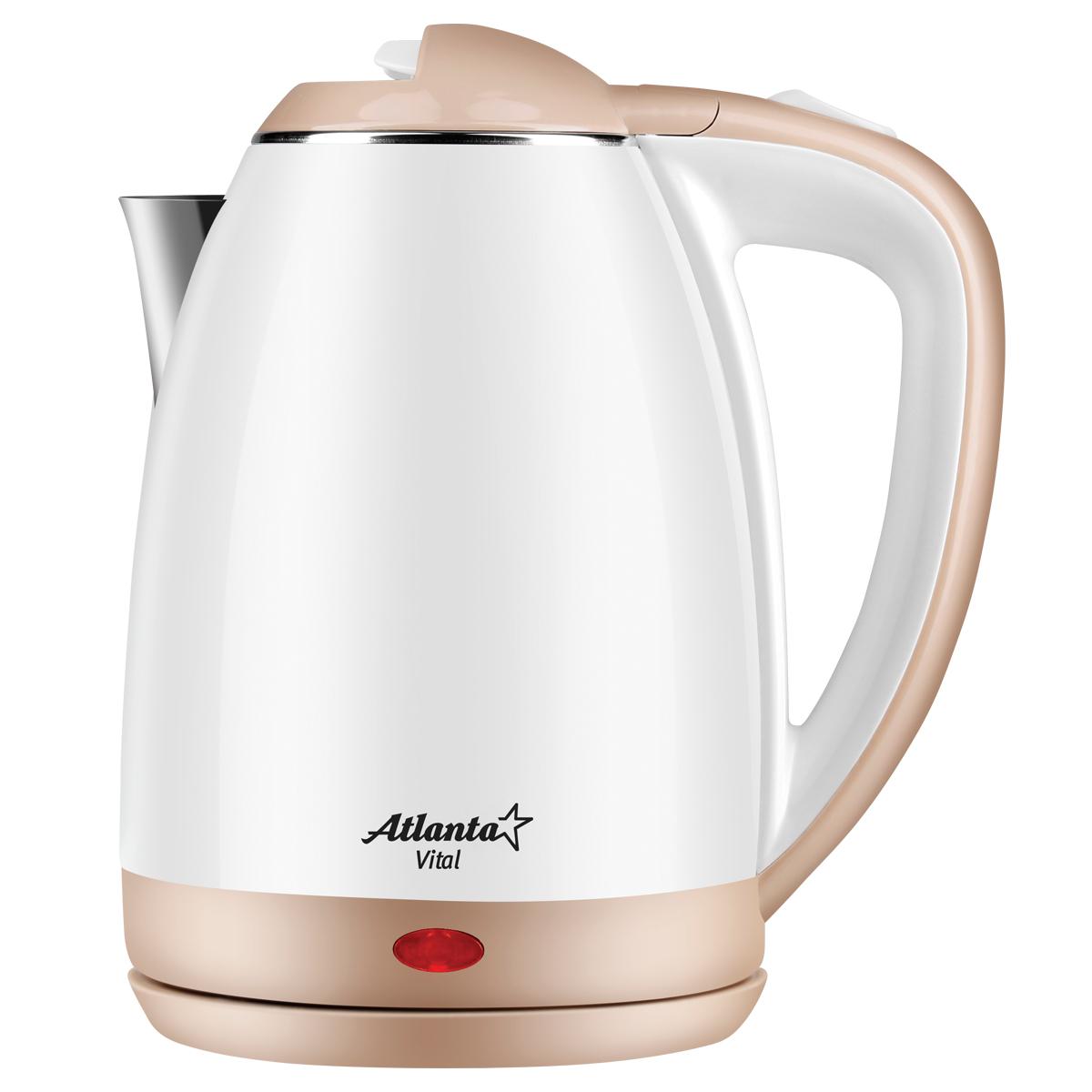 Чайник электрический Atlanta ATH 2437 White