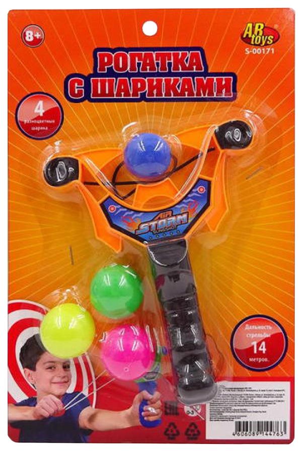 Рогатка, с 4 шариками, на блистере