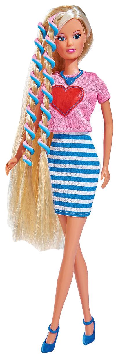 Кукла Штеффи с аксессуарами для волос, 29 см