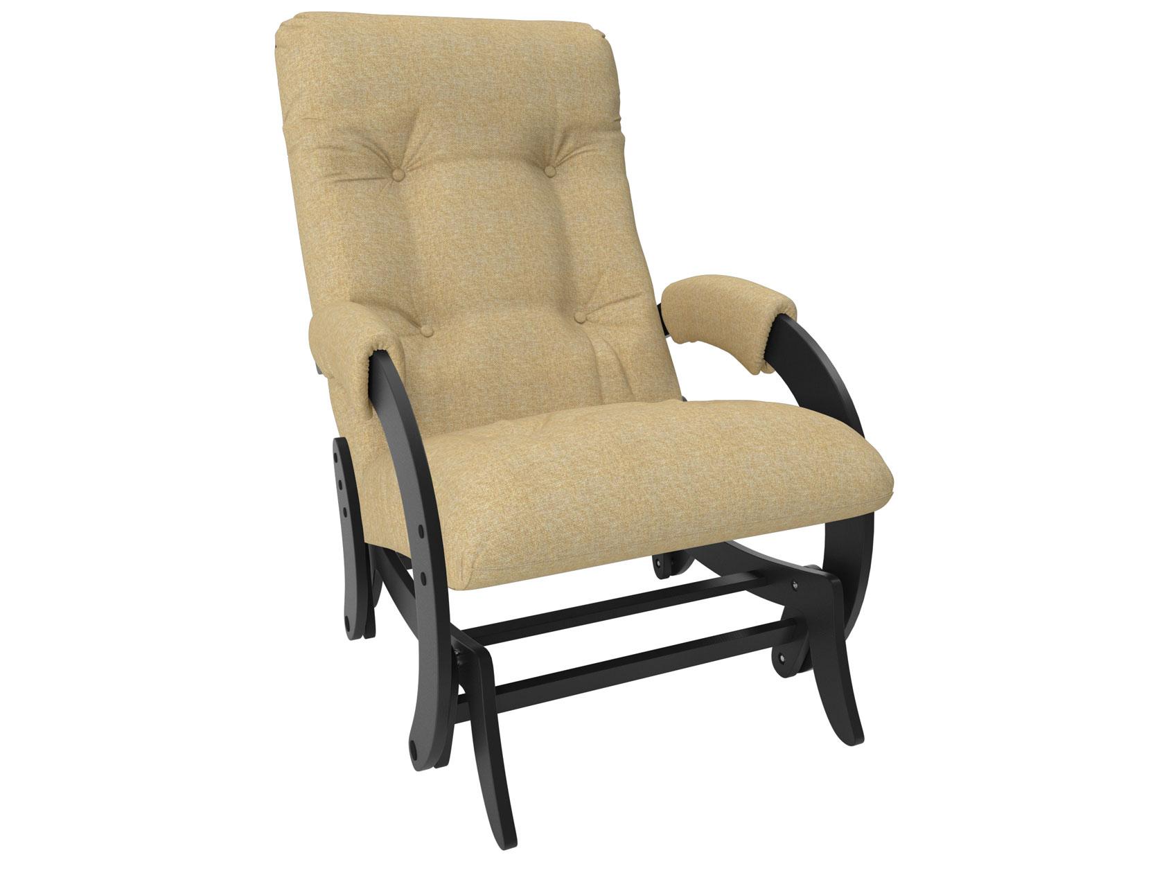 Кресло-глайдер Мебель Импэкс Комфорт Модель 68 Malta 03А, рогожка, венге