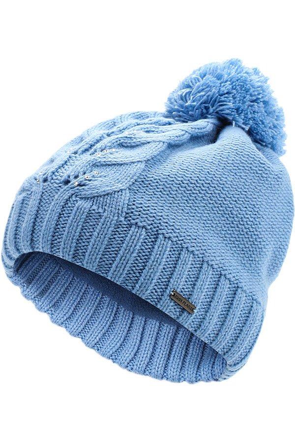 Купить KW16-71122J, Шапка для девочки Finn Flare, цв. голубой, р-р. 54, Детские шапки и шарфы