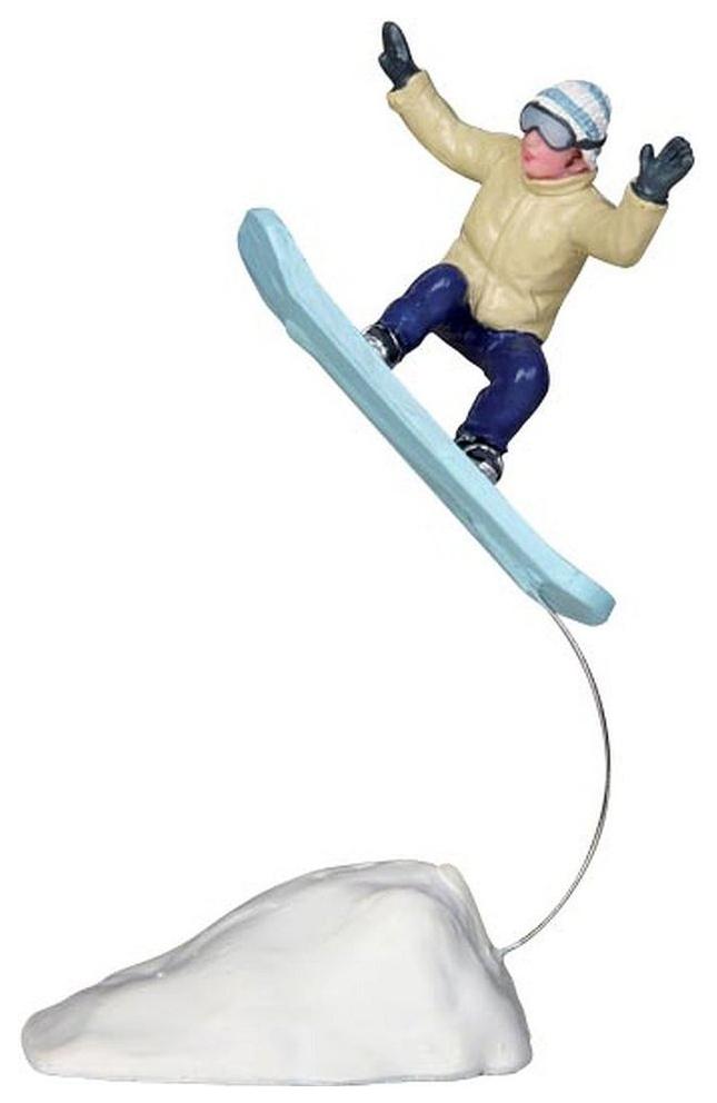Купить Lemax Фигурка «Прыжок на сноуборде», 10 см 22049, Игровые наборы