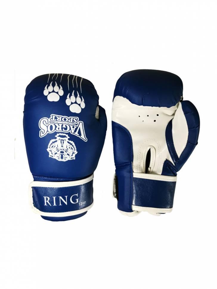 Боксерские перчатки VagroSport Ring RS808 синие