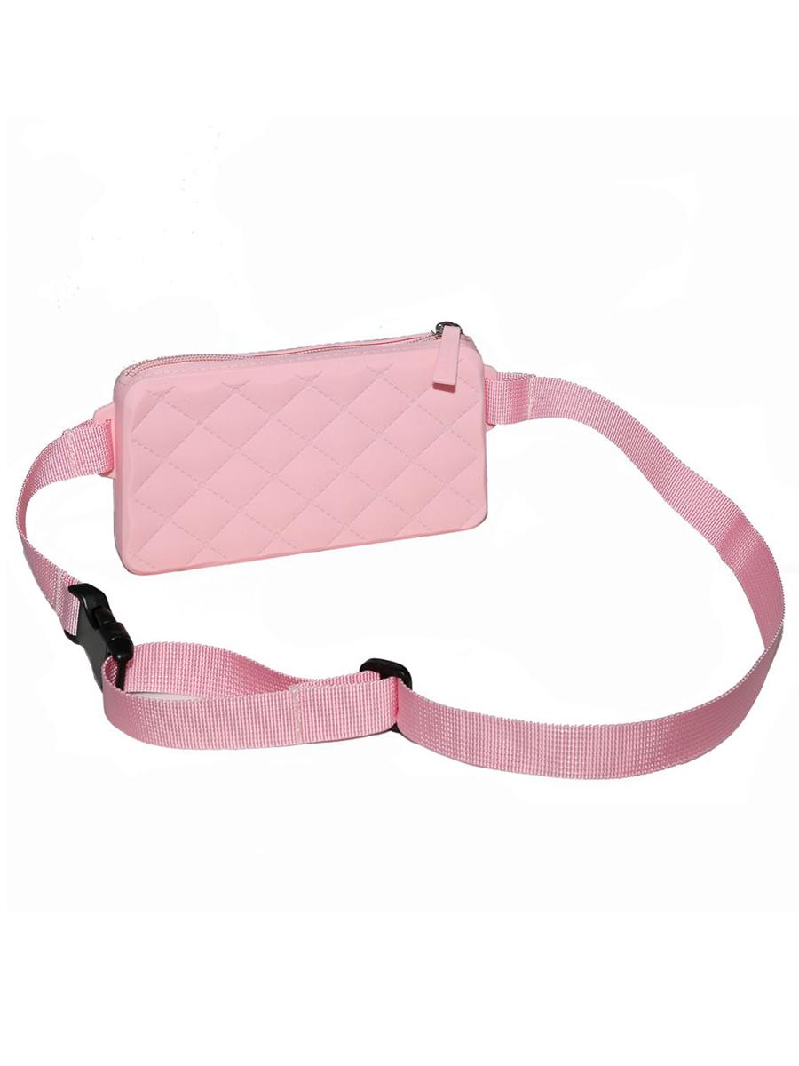 Купить Сумка детская Gummy Bags с ремнем на пояс, цв. Pink,