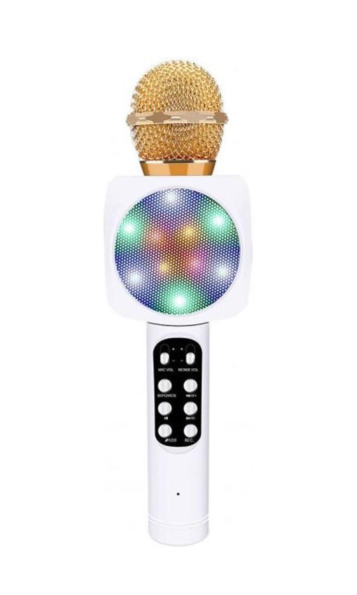 Беспроводной караоке-микрофон WS-1816 White