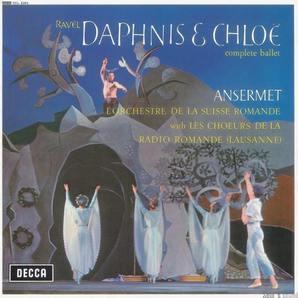 Ernest Ansermet, Orchestre De La Suisse Romande Ravel: Daphnis Et Chloe Complete Ballet по цене 1 830