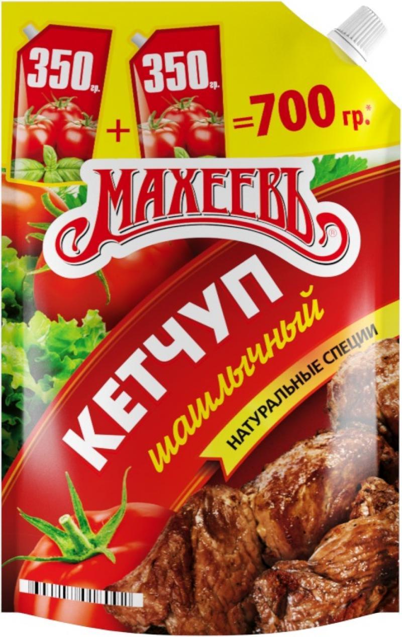 Кетчуп Махеевъ Шашлычный 700 г фото