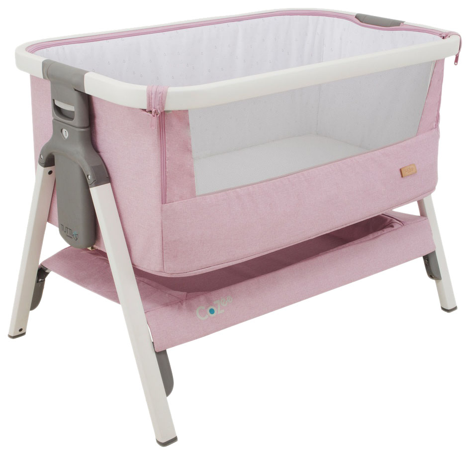 Купить Колыбель Tutti Bambini (Тутти Бамбини) CoZee White and Dusty Pink 211205/1191, Колыбели