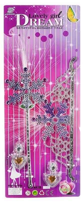Набор пласт. украшений принцессы, CRD 48х19х1,5