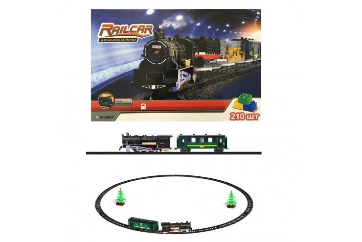 Железная дорога Fenfa 210 деталей 1608-2