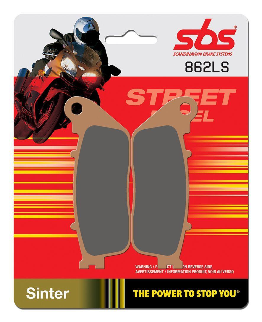 Тормозные колодки задние SBS 862LS для мотоциклов