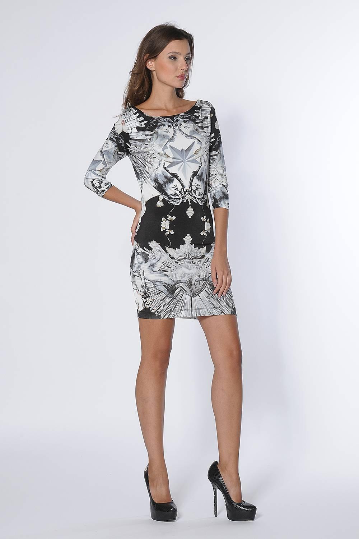 Платье женское PHILIPP PLEIN CW430240 PHILIPP PLEIN FW14-15 белое M фото