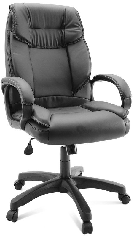 Кресло руководителя ГЕЛЕОС Бизнес, черный