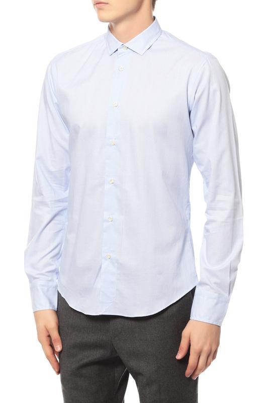 Рубашка мужская BRIAN DALES MS52W MONFUMO.001 голубая 44 IT