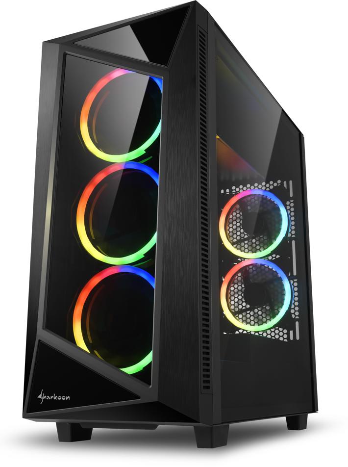 Корпус компьютерный Sharkoon REV200 RGB