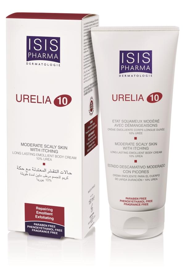 Крем для тела ISISPHARMA Урелия 10 увлажняющий и смягчающий (10% мочевина) 150 мл