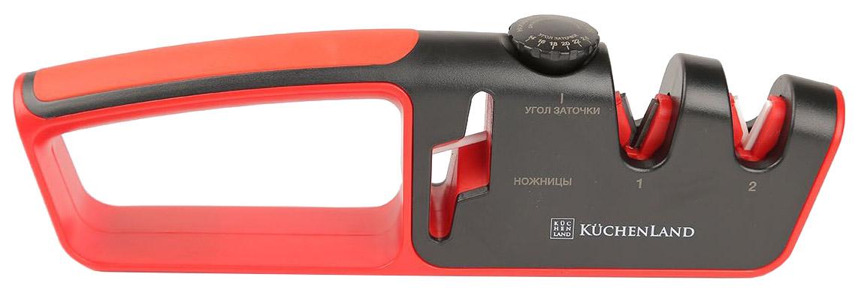Точилка для ножей Kuchenland Accessories H1054 Красный,