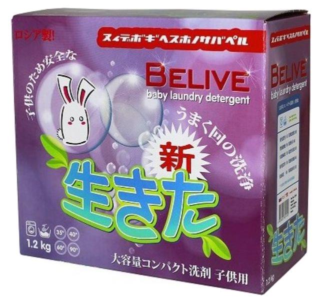 Стиральный порошок Чистаун «Belive» Детский 1200 гр
