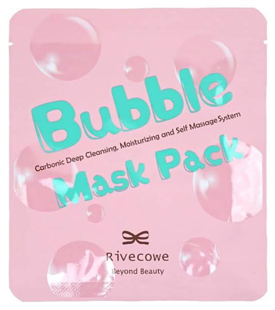 Маска для лица Rivecowe Bubble Mask Pack 13 мл фото