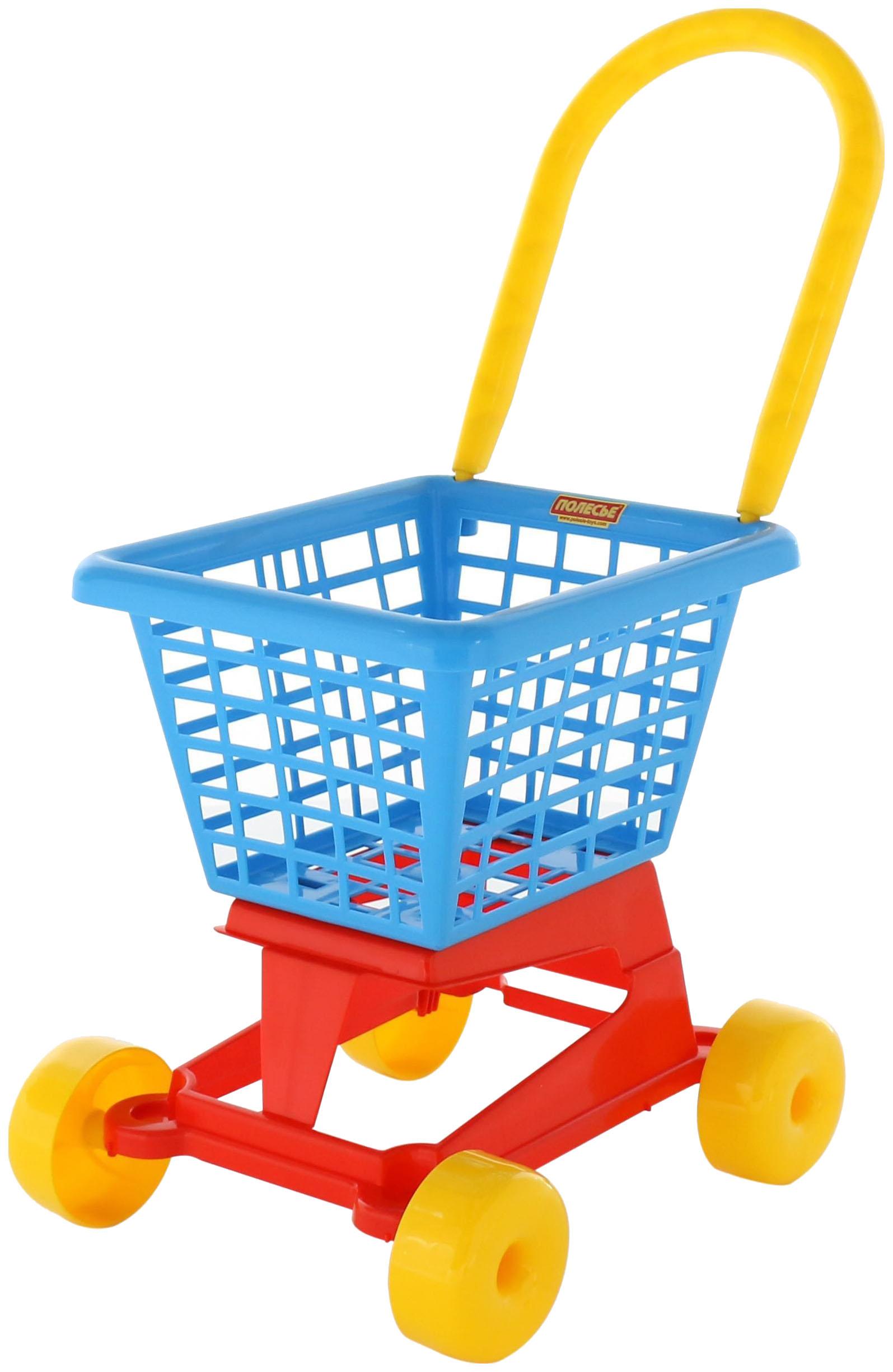 Купить Тележка игрушечная Полесье Supermarket №1 П-61980, Palau, Детские тележки для супермаркета