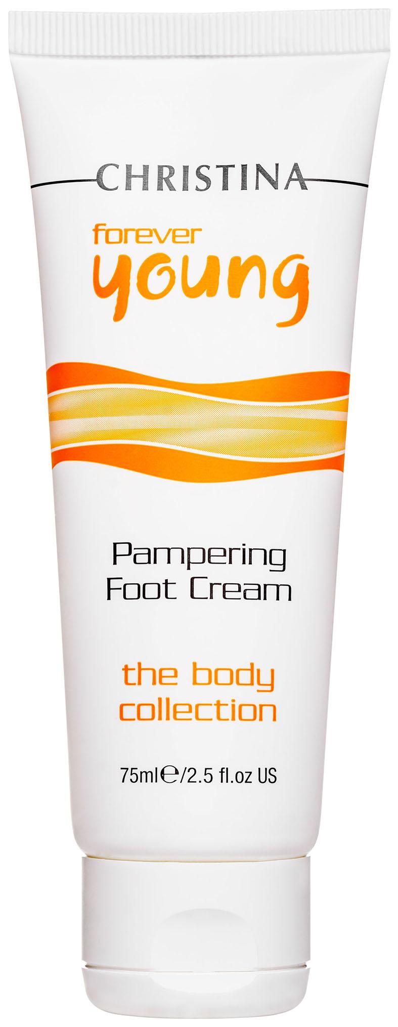 Крем для ног Christina Forever Young Pampering Foot Cream 75 мл