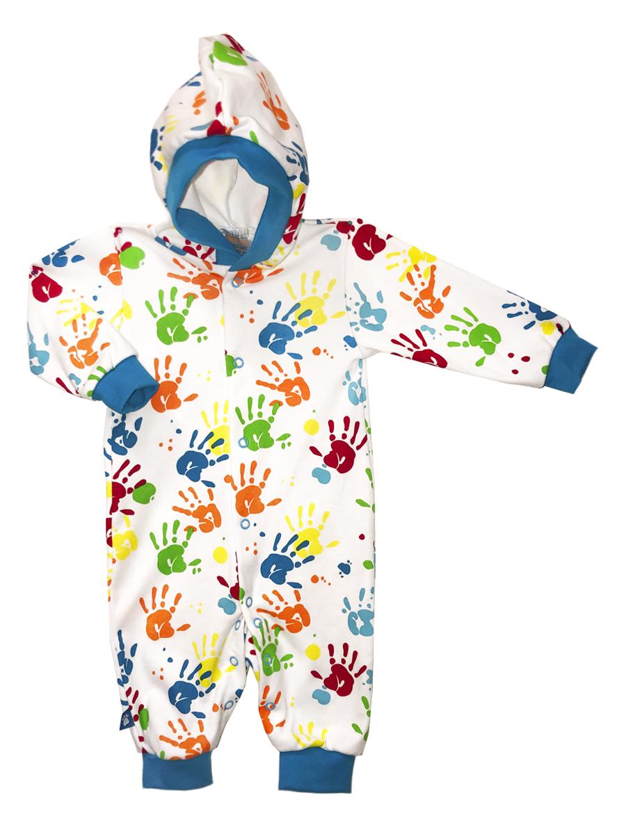 Купить Комбинезон КотМарКот Ладошки р.56, Слипы и комбинезоны для новорожденных