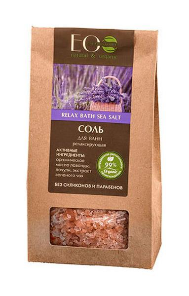 Соль для ванн Ecolab Релаксирующая 400 г