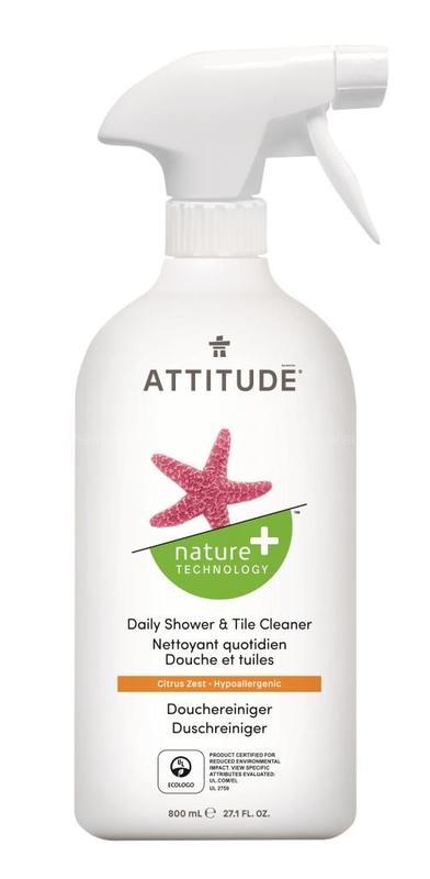 Очиститель Attitude для душа 800 мл.
