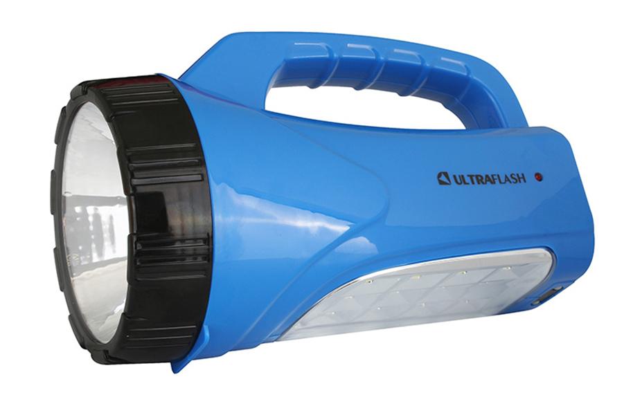 Туристический фонарь Ultraflash LED3818SM синий, 2 режима