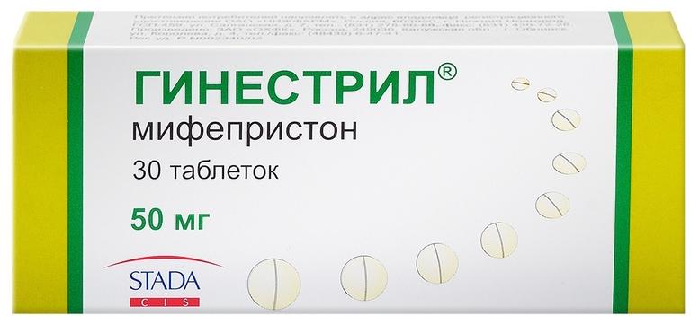 Гинестрил таблетки 50 мг 30 шт.