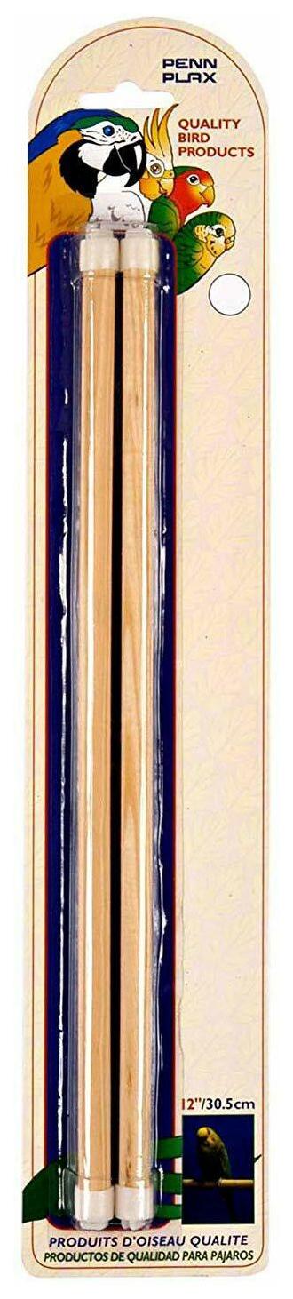 Жердочки деревянные для птиц Penn Plax (30х1