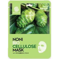 Маска для лица Berrisom с экстрактом нони G9SKIN NONI Biocellulose mask 25гр