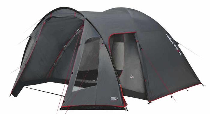 Палатка High Peak Tessin пятиместная серая