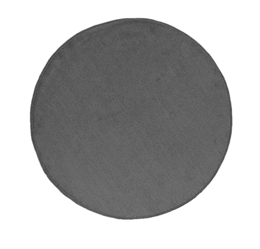 Коврик для ванной комнаты Round серый,