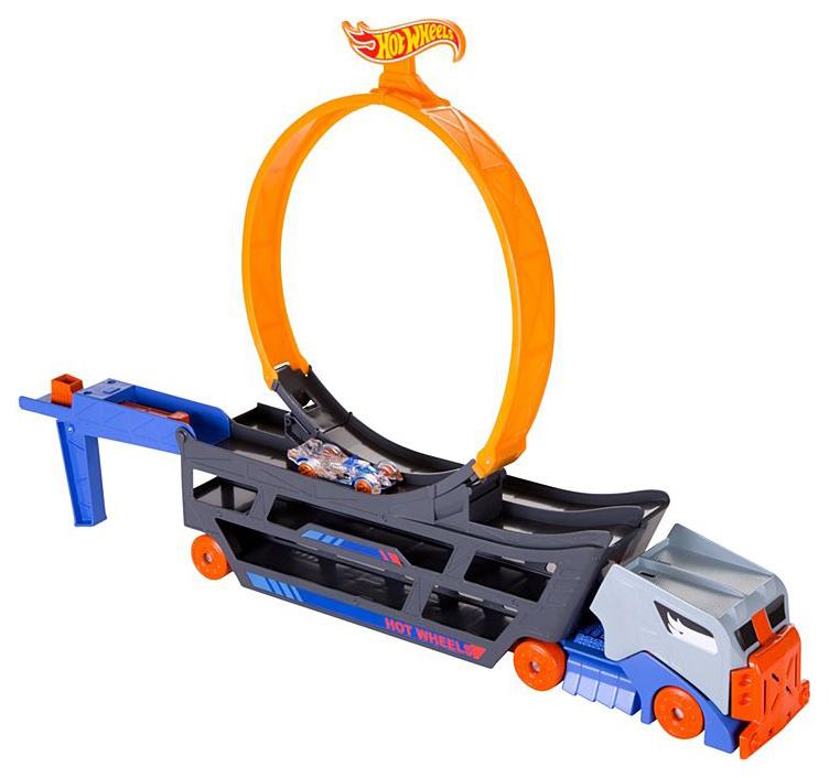 Купить Mattel Hot Wheels GCK38 Хот Вилс Трюковой тягач, Машинки-трансформеры
