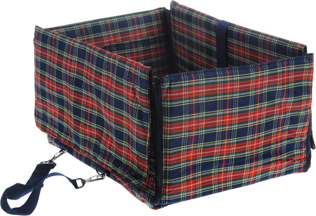 Автогамак сумка-переноска TITBIT для собак 45х35х25см