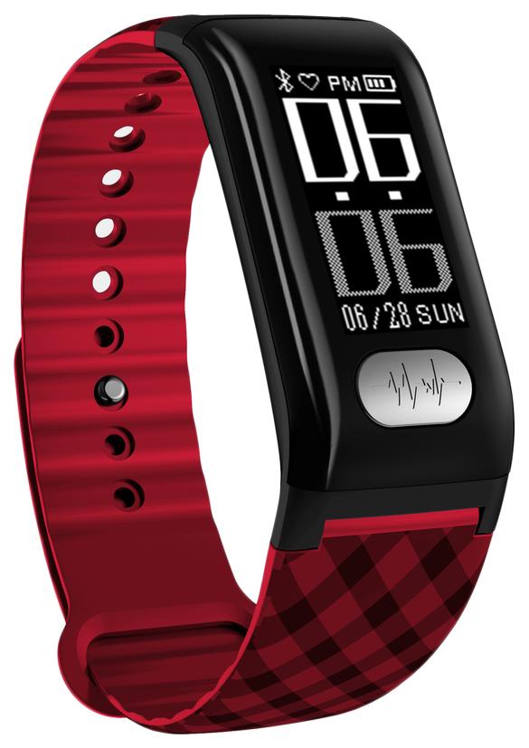 Фитнес-браслет XRide H777 Plus красный