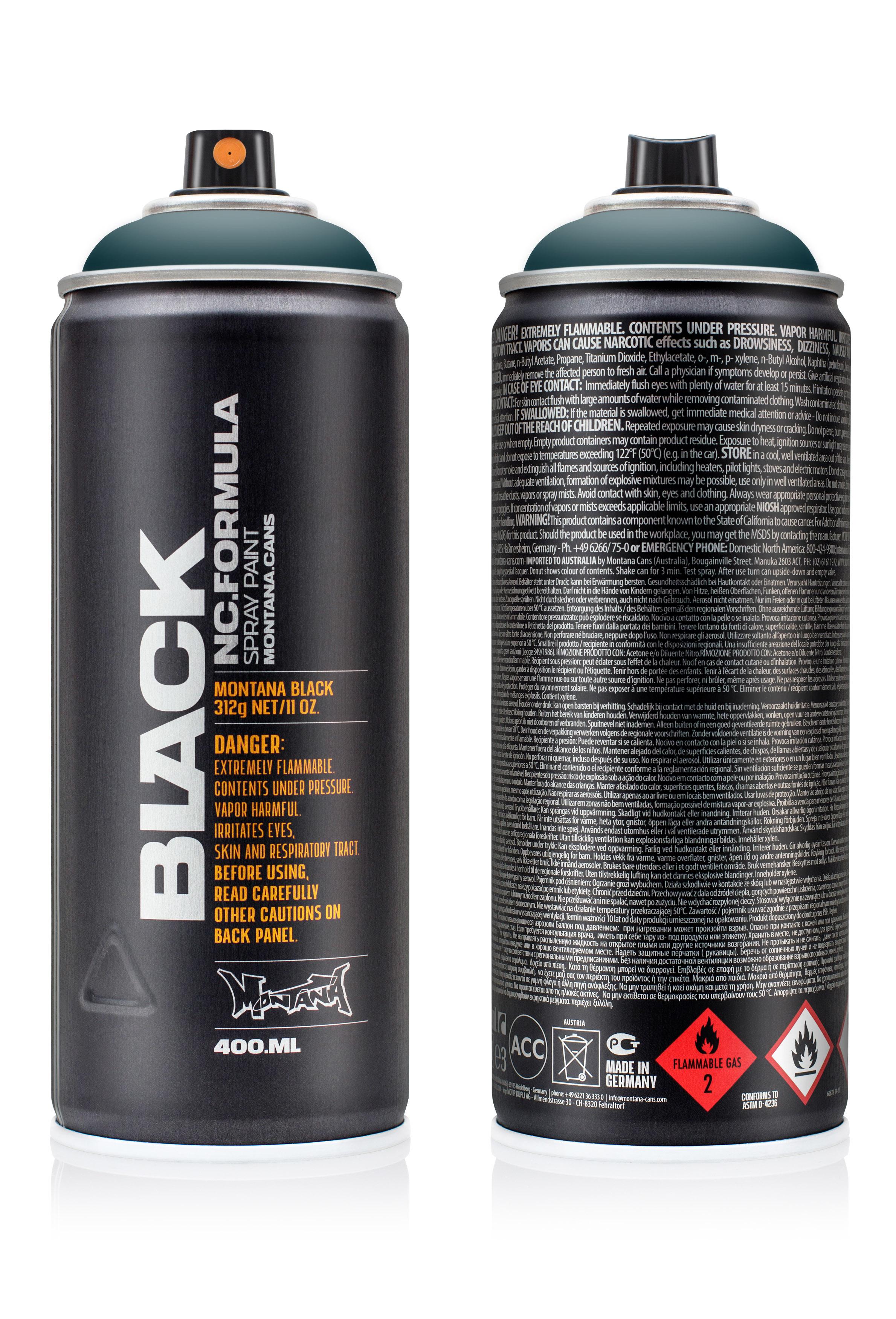 Аэрозольная краска Montana Black Riffs 400 мл