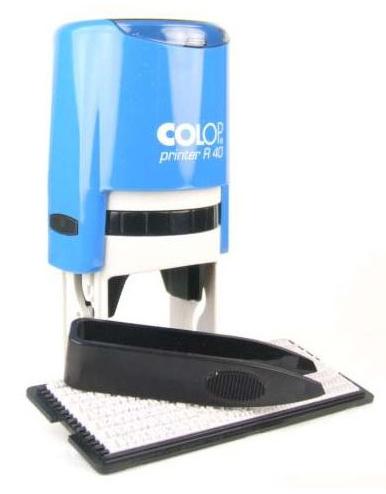 Самонаборная печать Colop Printer R40/1 SET РУС. Диаметр поля: 40 мм. Кол-во кругов: 1.