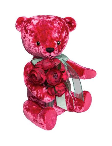 Мягкая игрушка Budi Basa Медведь БернАрт розовый BAr-70